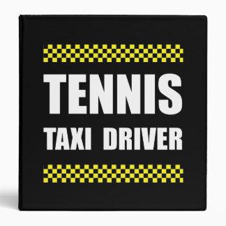 """Taxista del tenis carpeta 1 1/2"""""""