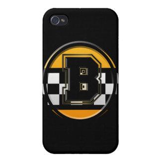 Taxista inicial de B iPhone 4/4S Funda