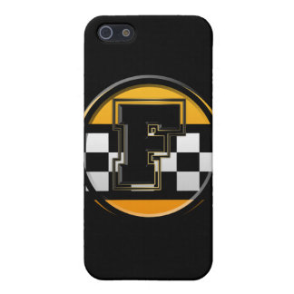 Taxista inicial de F iPhone 5 Carcasa