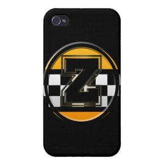 Taxista inicial de Z iPhone 4 Carcasas