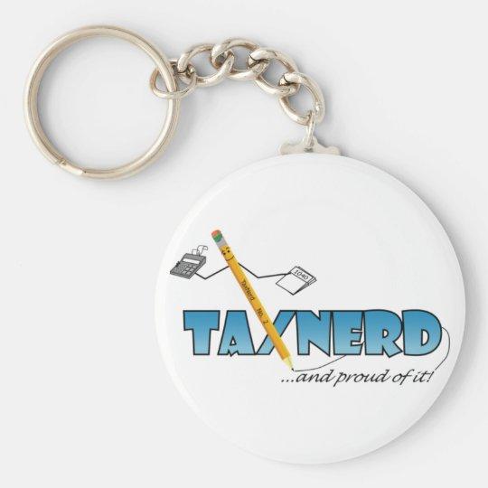 TaxNerd Keychain