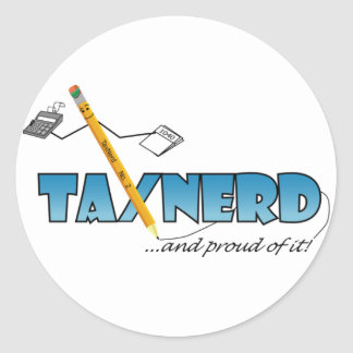 TaxNerd Sticker