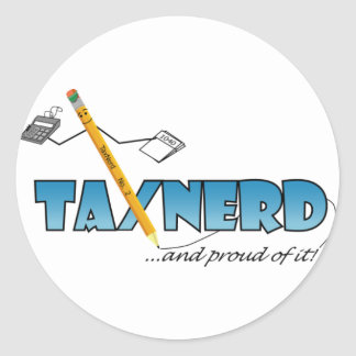 TaxNerd Stickers