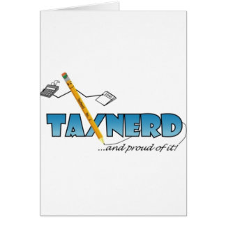 TaxNerd Swag Card