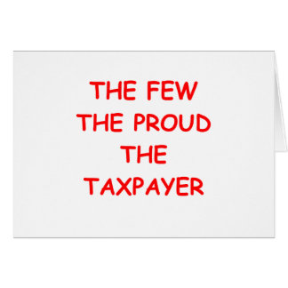 TAXPAYER GREETING CARDS
