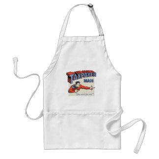 Taxpayer Man Adult Apron