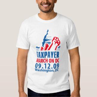 Taxpayer March on Washington DC 09.12.09 Shirt