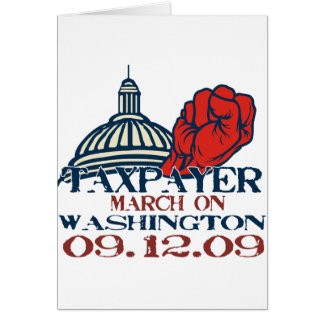 taxpayer march revised design cards
