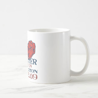 taxpayer march revised design coffee mug