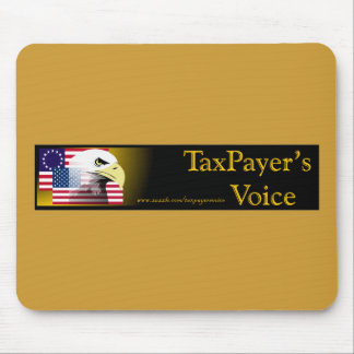 TaxPayers Voice Mouse Mats