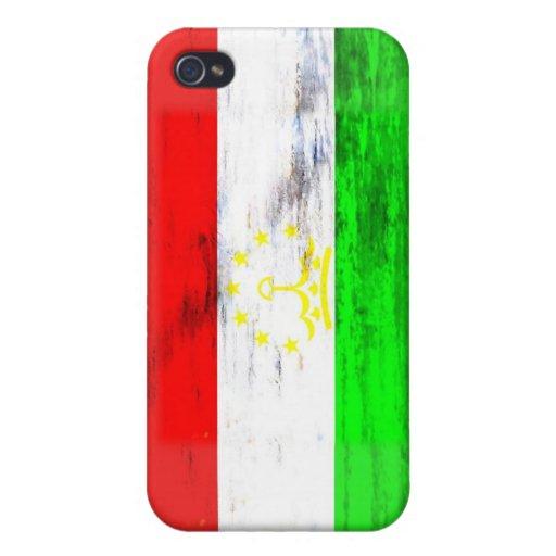 Tayikistán apenó la bandera iPhone 4/4S carcasa