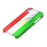 Tayikistán apenó la bandera iPhone 5 carcasa