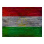 Tayikistán apenó la bandera postal