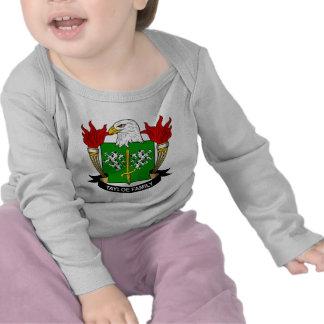 Tayloe Family Crest Tshirts