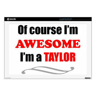 Taylor Awesome Family Laptop Skin