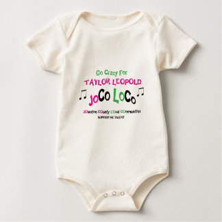 TAYLOR: Baby One Piece Tee