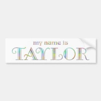 Taylor Bumper Sticker