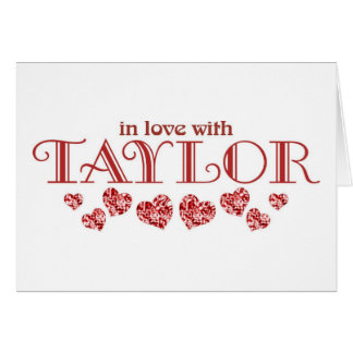 Taylor Card