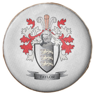 Taylor Coat of Arms Chocolate Dipped Oreo