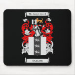 Taylor Coat of Arms Mouse Pad