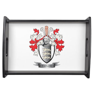 Taylor Coat of Arms Serving Tray