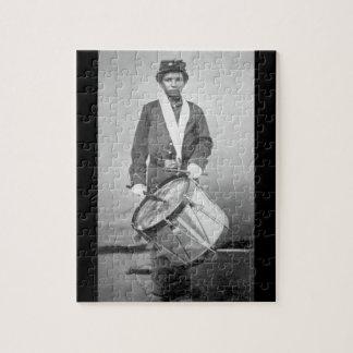 Taylor - Drummer Boy_War Image Jigsaw Puzzle