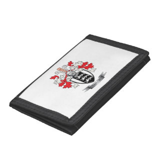 Taylor Family Crest Coat of Arms Tri-fold Wallet