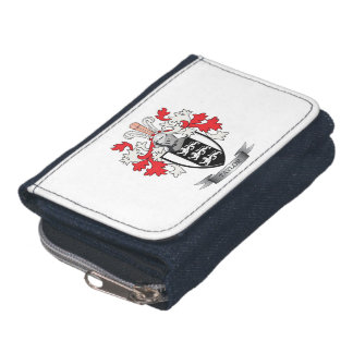 Taylor Family Crest Coat of Arms Wallet