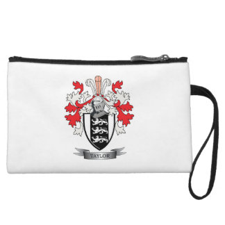 Taylor Family Crest Coat of Arms Wristlet Wallet