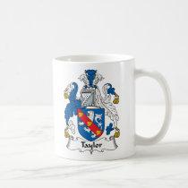 Taylor Family Crest Mug
