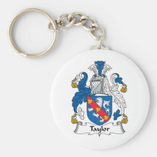Taylor Family Crest Keychain