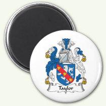 Taylor Family Crest Magnet