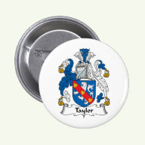 Taylor Family Crest Button