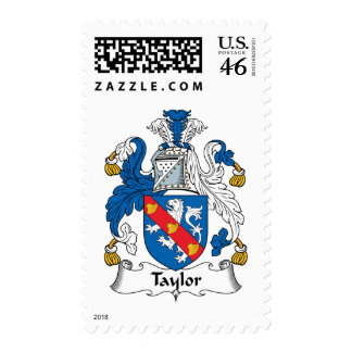 Taylor Family Crest Stamp