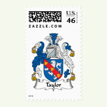 Taylor Family Crest Stamps