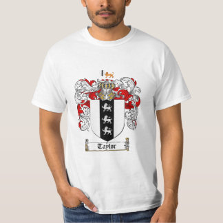 Taylor Family Crest - Taylor Coat of Arms T-Shirt