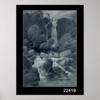 Taylor Ghyll, Sty Head, Borrowdale, 1806 Poster