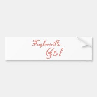 Taylor Girl tee shirts Car Bumper Sticker