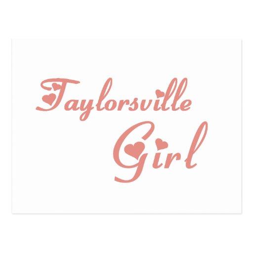 Taylor Girl tee shirts Postcards
