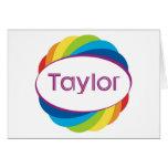 Taylor Greeting Card