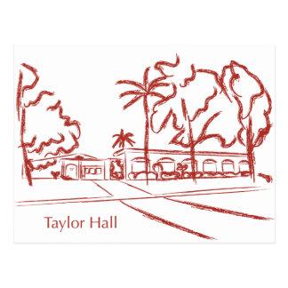 Taylor Hall Postcard