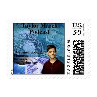 Taylor Marek Podcast Official Stamp