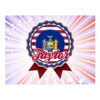 Taylor, NY Postales