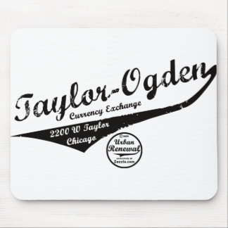 Taylor Ogden Currency Exchange Mouse Pad
