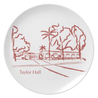 Taylor Pasillo Plato Para Fiesta