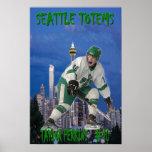 Taylor Perkins - tótemes de Seattle Posters