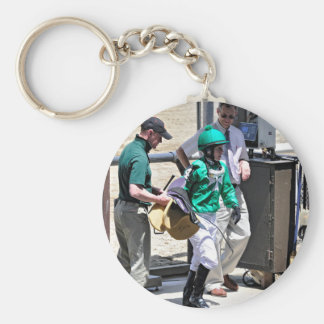 Taylor Rice Weighs Out at Belmont Park Keychain