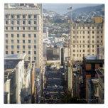 Taylor Street, San Francisco Large Square Tile