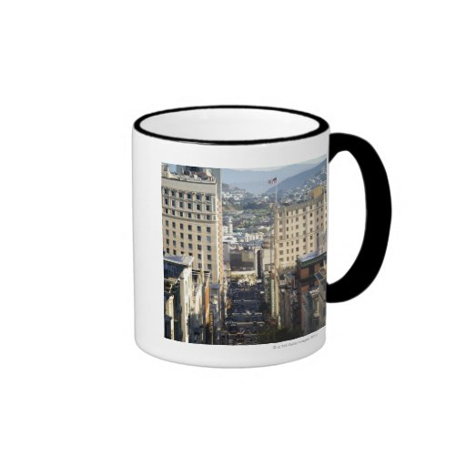 Taylor Street, San Francisco Ringer Coffee Mug