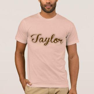 Taylor T-Shirt Brown Logo
